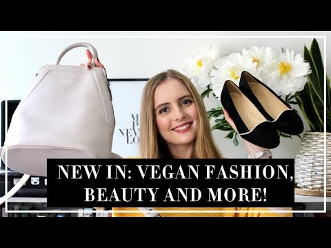 NEW IN: VEGAN FASHION, BEAUTY AND MORE! | Marta Canga