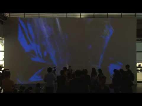 2014/05/17「奇幻視界:2014國際科技藝術展」現場表演:艾力克斯.斯摩克〈雷特利克〉