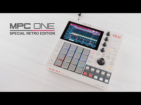 The MPC One Retro from Akai Professional