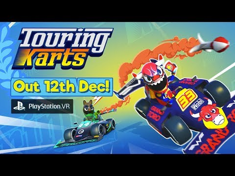 Touring Karts PS4 PSVR Launch Trailer - Out on December 12th 2019