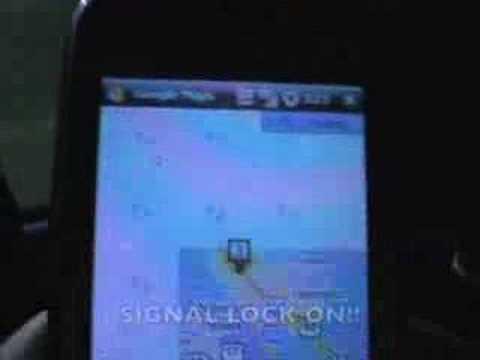 HTC TyTN II GPS