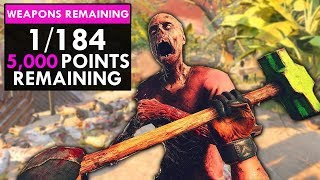 184 WEAPON BIGGEST ZOMBIES GUN GAME I'VE PLAYED (Custom Zombies)