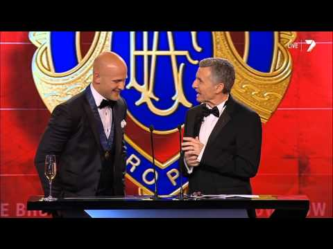 2013 AFL Brownlow Medal | Round 23 votes count | Gary Ablett Jr. speech