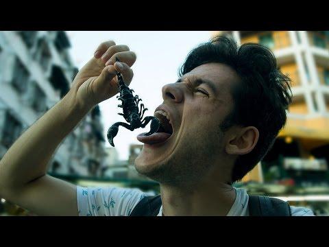 Sokakta Böcek Yeme Challenge (Akrep,Hamam Böceği,Solucan vs.)