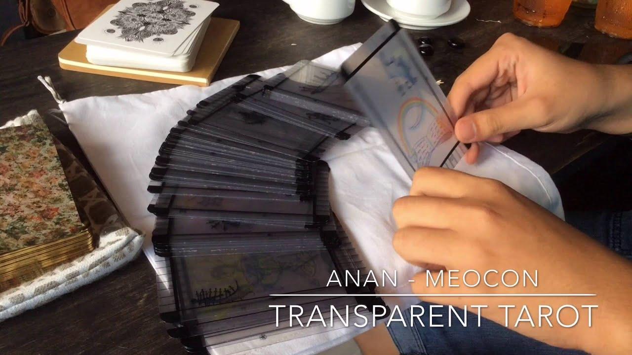 Chia sẻ cách sử dụng Transparent Tarot – An An & Mèo Con [MysticHouse.vn]