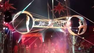 Wheel of death at zippos circus winter wonderland hyde park