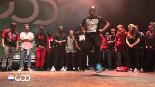 Kid NY vs Chozn | Krump Battle Final | World of Dance Netherlands 2015 | #WODNL15