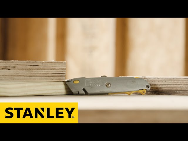 STANLEY® 10-499 Blade Change Instructions