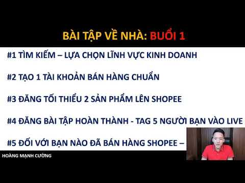 Phần 8- Hành trình 1000 đơn hàng Shopee 1 ngày từ con số 0