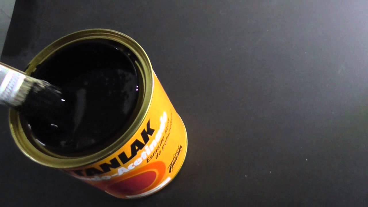 Pintar una encimera de cocina 3 3 pintado con esmalte y - Encimeras de cocina ...