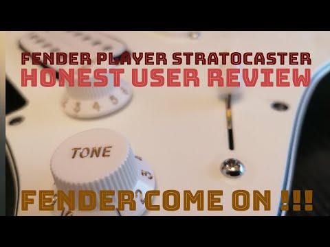 Honest User Review Fender Player Stratocaster 3T Sunburst