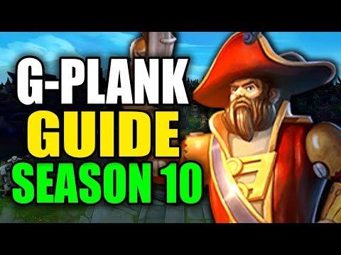 SEASON 10 GANGPLANK GAMEPLAY GUIDE - (Best Gangplank Build, Runes, Playstyle) - League of Legends