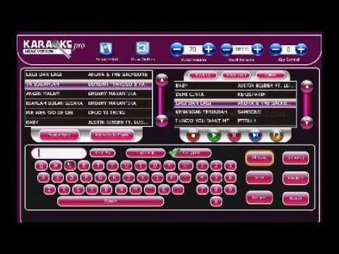 Demo Software Karaoke