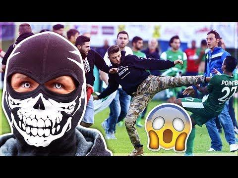 כשאוהדים פורצים למגרשי כדורגל... (האוהדים הכי מפחידים)