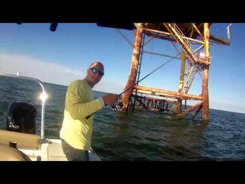 Haibo Steed 30s March 13 2018 Galveston TX Offshore rigs