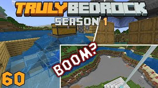 Seapickle farm and not so explosive TNT. Minecraft Truly Bedrock SMP s1e60