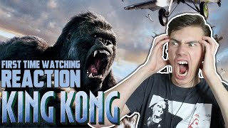 King Kong (2005) - MOVIE REACTION - FIRST TIME WATCHING