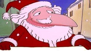 Le père noël et son jumeau - Classique de Noël | Dessin animé de Noël pour les enfants
