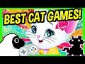 BEST CAT GAMES ONLINE  Free Funny Cat Video Games   Let s play ALLEY CAT  Kitty Spa Make Over   more