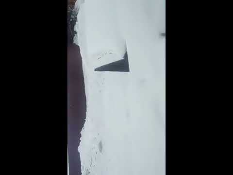 Today,February 22. It's snowing. IRKUTSK SIBERIA