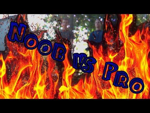 Noob vs Pro - Making fire (Tűzgyújtás) letöltés