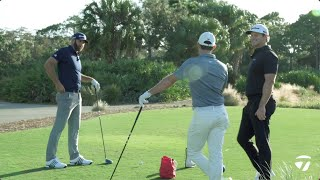Driver Session With Dustin Johnson & Rory McIlroy | TaylorMade Golf