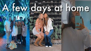 A few days at home | christmas lights, avalon, merch!!