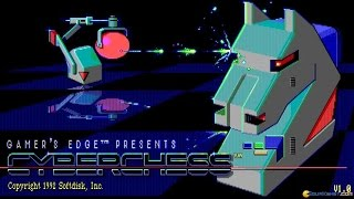 Cyberchess gameplay (PC Game, 1992)