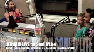 Jeniqua & DJ Liche Radio Interview (Soul D'Lite) 6th March 2013 Feat. Nicey Girl & Iman)