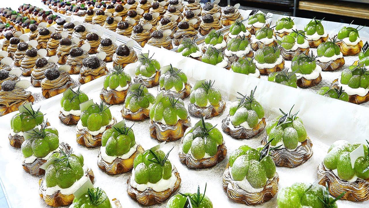 압도적인 비주얼! 화려한 토핑의 데니시 3종 대량생산 / Happy Dessert! Danish pastries with colorful toppings