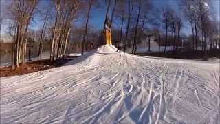 Snowboarding and Skiing on Jack Frost/ Big Boulder Mountain (Blakeslee, PA)