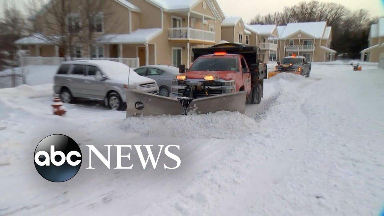 (NEW YORK - January 2019) Deadly arctic blast sweeps Northeast