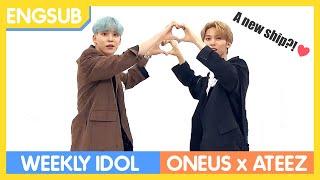 [ENG SUB] Weekly Idol | ONEUS & ATEEZ | Ep. 412 (FULL)