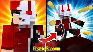 Minecraft Adventure - HOW TO BECOME ANTMAN!!