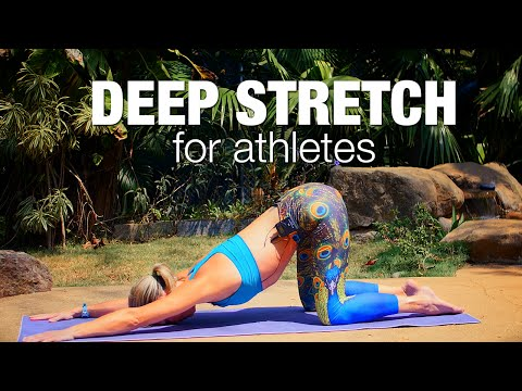 Deep Stretch for Athletes Yoga Class - Five Parks Yoga