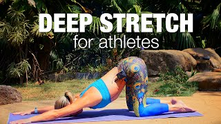 deep stretch for athletes yoga class five parks yoga