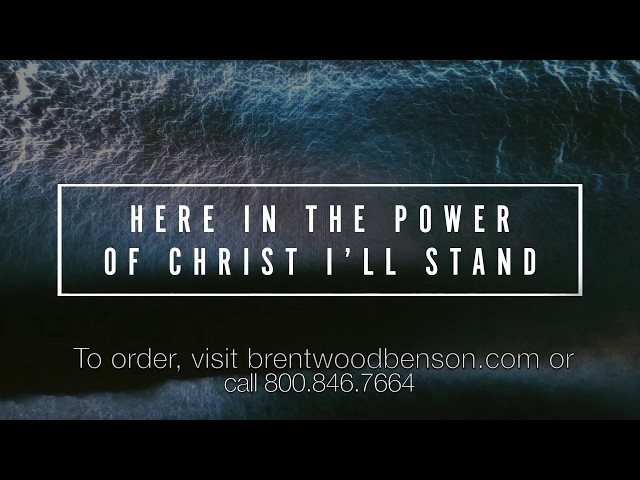 In Christ Alone with The Solid Rock (Lyric Video)   The Reason [Travis Cottrell]