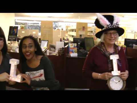 Yavapai College Library Mannequin Challenge
