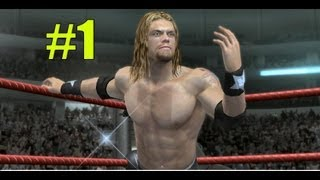 WWE Smackdown vs Raw 2010 EDGE PART 1 ROAD TO WRESTLEMANIA