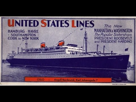 SS Manhattan and SS Washington