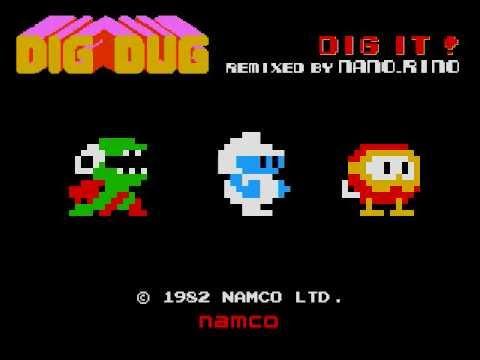 DIG IT !! (DIGDUG)  remixed by  nano_rino