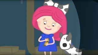 Смарта, Спотти и котенок. Познавательные мультики для девочек.