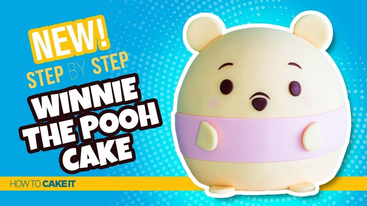 How To Make A Winnie The Pooh Ufufy Cake By Joni Kwan Ufufy Cake