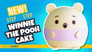 How To Make A Winnie The Pooh Ufufy Cake by Joni Kwan | Ufufy Cake | How To Cake It Step By Step