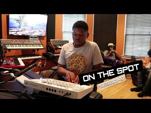 Lupe Fiasco Producer Makes a Beat ON THE SPOT - VohnBeatz ft Alsace