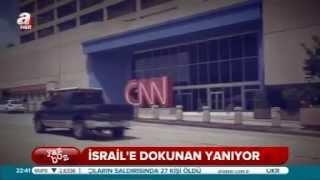 İsrail yandaşı CNN!  Yaz Boz 24.01.2015