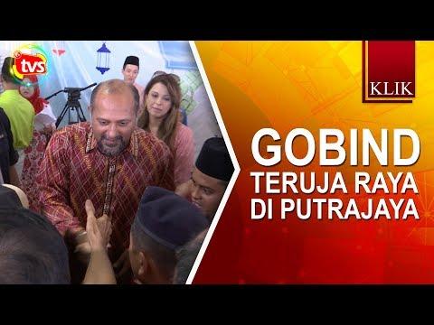 Gobind teruja raya di Putrajaya