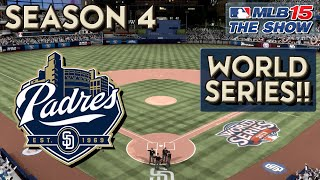 MLB 15 The Show Franchise Mode: Ep. 71 | Twins vs Padres World Series