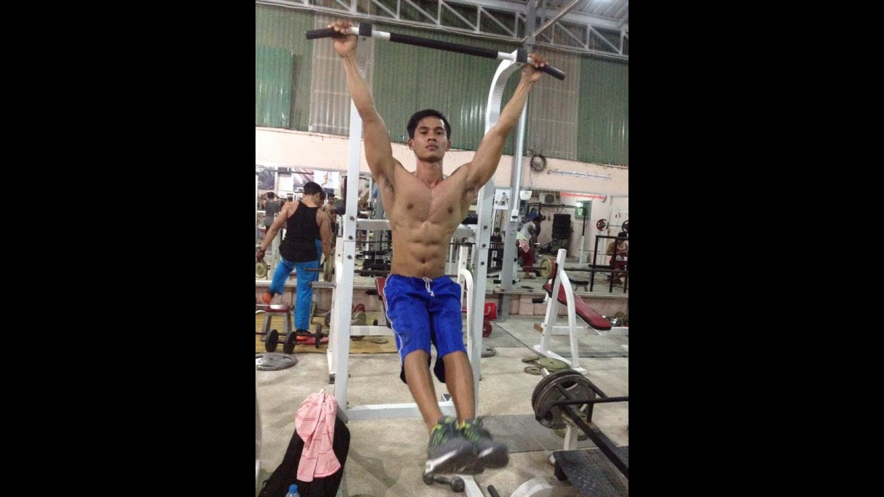 Mao Meas SomRith Cambodia fitness gym and muscle workout