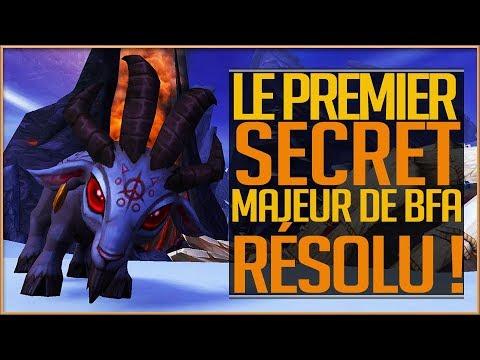 LA MASCOTTE SECRÈTE BAA&39;L  LE 1ER SECRET MAJEUR DE BFA RÉSOLU